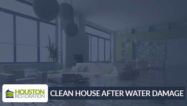 Tips to Clean Your House After it was Water Damaged